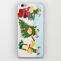 Christmas Elfs! iPhone & iPod Skin