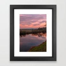 River Eamont Framed Art Print