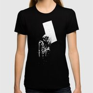 Dark Room #1 Womens Fitted Tee Black X-LARGE