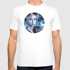Jenna SMALL White Mens Fitted Tee