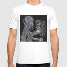 Life of Oceans: The Sea Dragon White Mens Fitted Tee SMALL