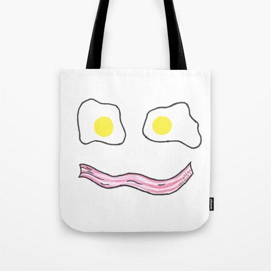 Wakey Wakey Eggs and Bakey Tote Bag