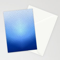 Blue Stained Glass  Stationery Cards