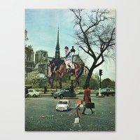 Paris, 1969 Canvas Print