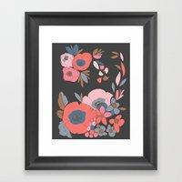 Dakota Flower Framed Art Print