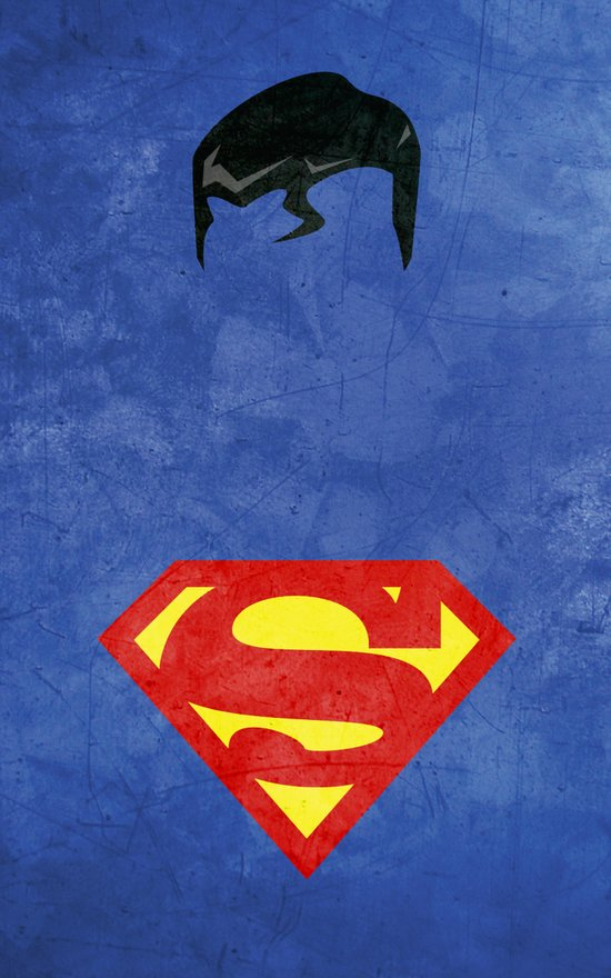 Supes Art Print