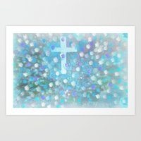 Sweetness Of The Cross Art Print