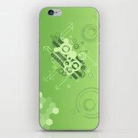 Green Vector iPhone & iPod Skin