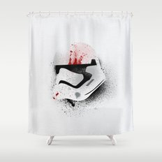 The Traitor Shower Curtain