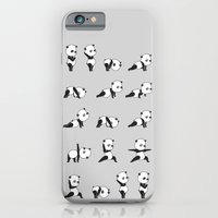Yoga Bear - Panda iPhone 6 Slim Case