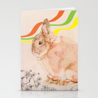 Dedicated to all those bunnies out there Stationery Cards