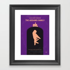 No423 My The Addams Fami… Framed Art Print