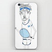 Tennis iPhone & iPod Skin