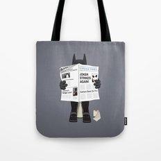 A Bat Sunday Tote Bag