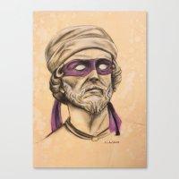 Donnie TMNT Canvas Print