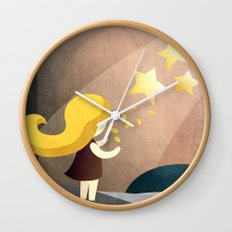 The Star Money  Wall Clock