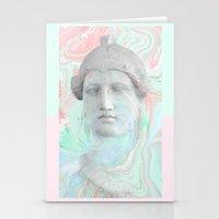 Papier marbré Stationery Cards