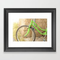 Ride Away with Me Framed Art Print