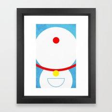 Doraemon Framed Art Print