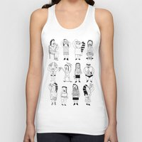 KIDS AND PIZZA Unisex Tank Top
