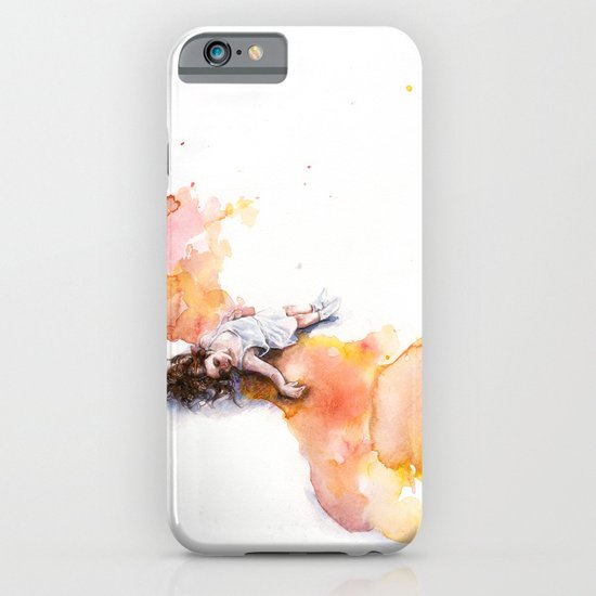 take off in flight iPhone & iPod Case