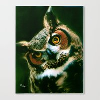 REFLECTIVE EYE Canvas Print