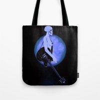 Skull Of Rock/Black Tote Bag