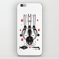 SELF-CONQUEST iPhone & iPod Skin