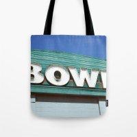 Let's Bowl! Tote Bag
