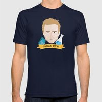 Jesse Pinkman Breaking Bad Mens Fitted Tee Navy SMALL