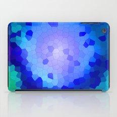 Aqua Stained iPad Case