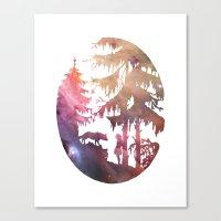 Implore Canvas Print