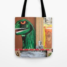 Tiki Monsters Of Mass Destruction Tote Bag