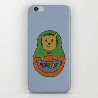 Piptroyshka iPhone & iPod Skin