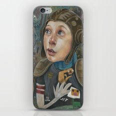 IMAGINARY ASTRONAUT iPhone & iPod Skin