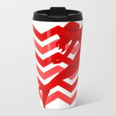 Red  Mermaid  Travel Mug