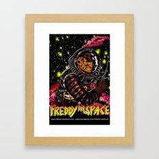 Freddy In Space Framed Art Print
