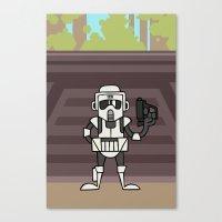 EP6 : Scout Trooper Canvas Print