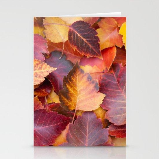Autumn's Carpet Stationery Card