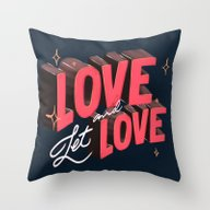 Love & Let Love Throw Pillow