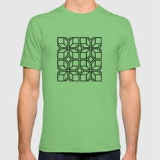 5050 No.7 Mens Fitted Tee Grass SMALL