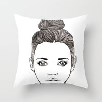 Heart Tattoo Throw Pillow
