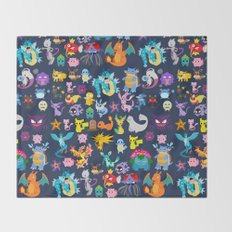 Pocket Collection 2 Throw Blanket