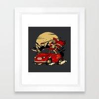 500 Framed Art Print