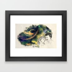 When we're together Framed Art Print