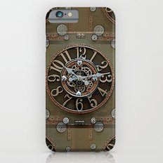 Steampunk Klokface Slim Case iPhone 6s