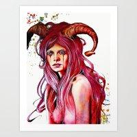 The Aries Art Print