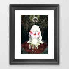SAINT Framed Art Print
