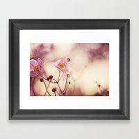 Antique Pink Framed Art Print