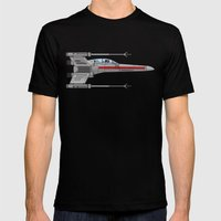 Red Leader to Goose, It's A TRAP! Mens Fitted Tee Black SMALL